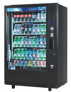 Expendedora de Bebidas frías Robótica de Cristal