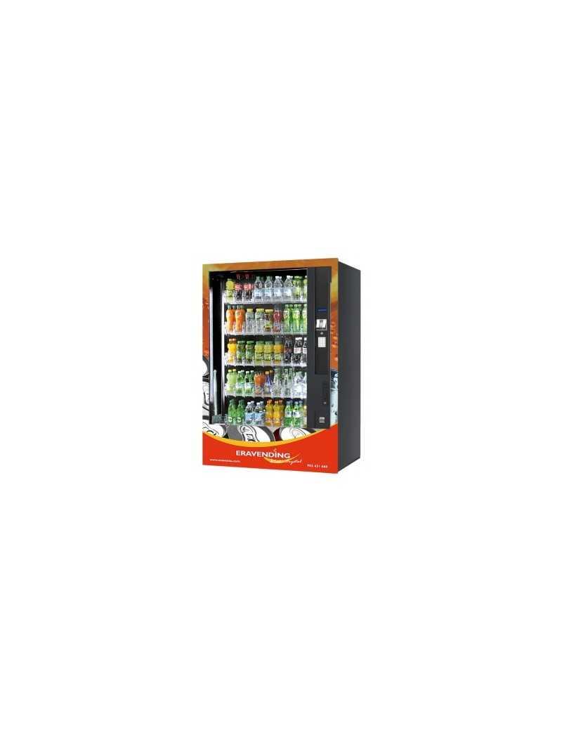 Expendedora de bebidas frías de Cristal , 45 tipos , nueva , ultima generación