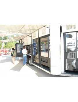 Tienda vending , movil , en remolque .