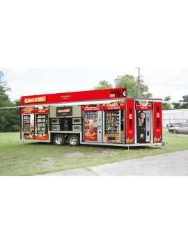 Tienda Vending Movil en Remolque