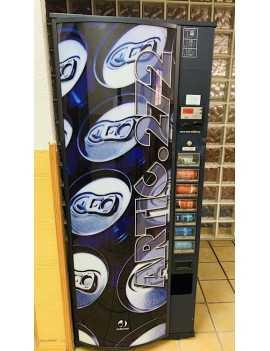 Expendedora de bebidas frías , 7 selecciones, 274 latas , reacondicionada
