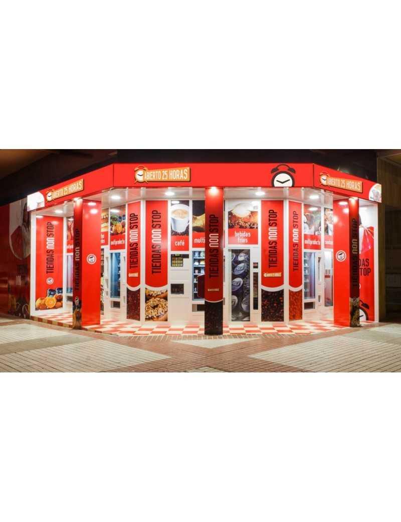 Distribución , venta, explotación y reparación de máquinas expendedoras.