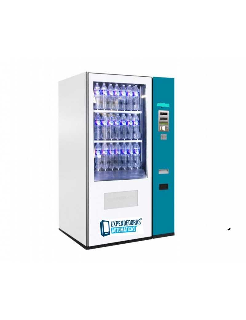 Bebidas frías , botellas de 1,5 litros , frente de Cristal