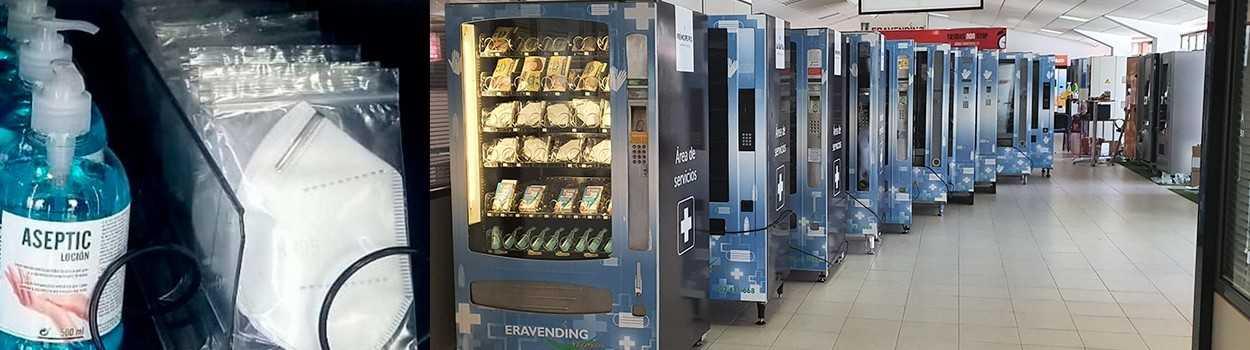 Mascarillas, Guantes, Gel Nuevas | Expendedoras Automáticas
