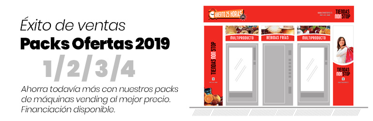 Packs Ofertas Máquinas Vending